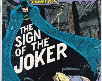 Detective Comics #476 VF DC Comics Bronze Age Batman Joker