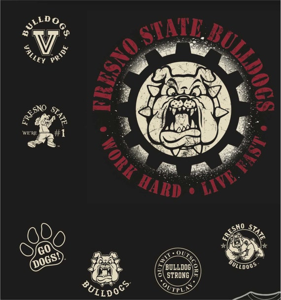 Fresno state bulldogs t shirt logos all by bulldogstrongfresno for T shirt printing fresno