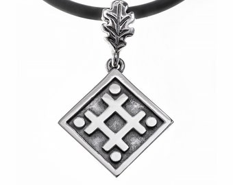"""Pendant """"The Sign of Well""""."""