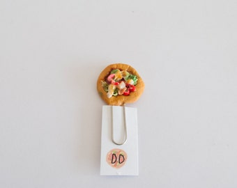 Pizza Paperclip/ Bookmark