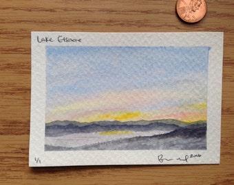 Lake Elsinore painting