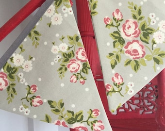 New 'Vintage Style' cotton bunting