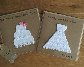 Wedding Dress - Wedding Card
