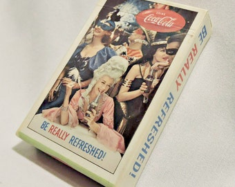 Vintage Coke playing cards.  Title Masquerade.  1960's.