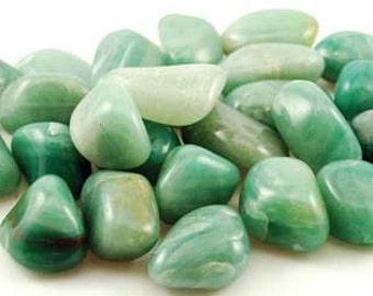 1lb. Green Adventurine Tumbled Stones
