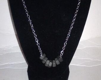 Casual Industrial lock nut necklace