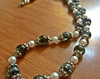 Gorgeous handmade perk necklace