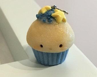 Glow Cupcake (Blue) Charm