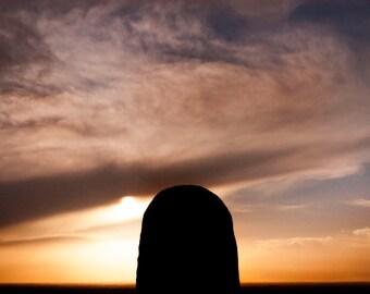 Sunset of the Hill of Tara