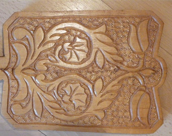 Handmade cutting BOARD, Vintage Wood board,  handcarved board, handcrafted cutting bord, Wooden gifts