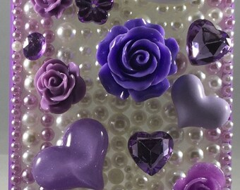 Hellokitty purple case for iphone 6+