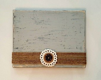 Rustic Shabby Chic Wood Picture Frame Vintage Picture Frame Wedding Gift Home Decor