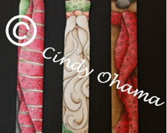 Paint Stir Sticks Ornaments (Acrylic) by Cindy Ohama