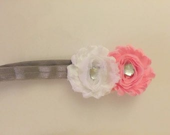 Double-Flower Infant/Toddler headband