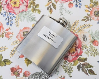 PERSONALISED HIP FLASK For Her
