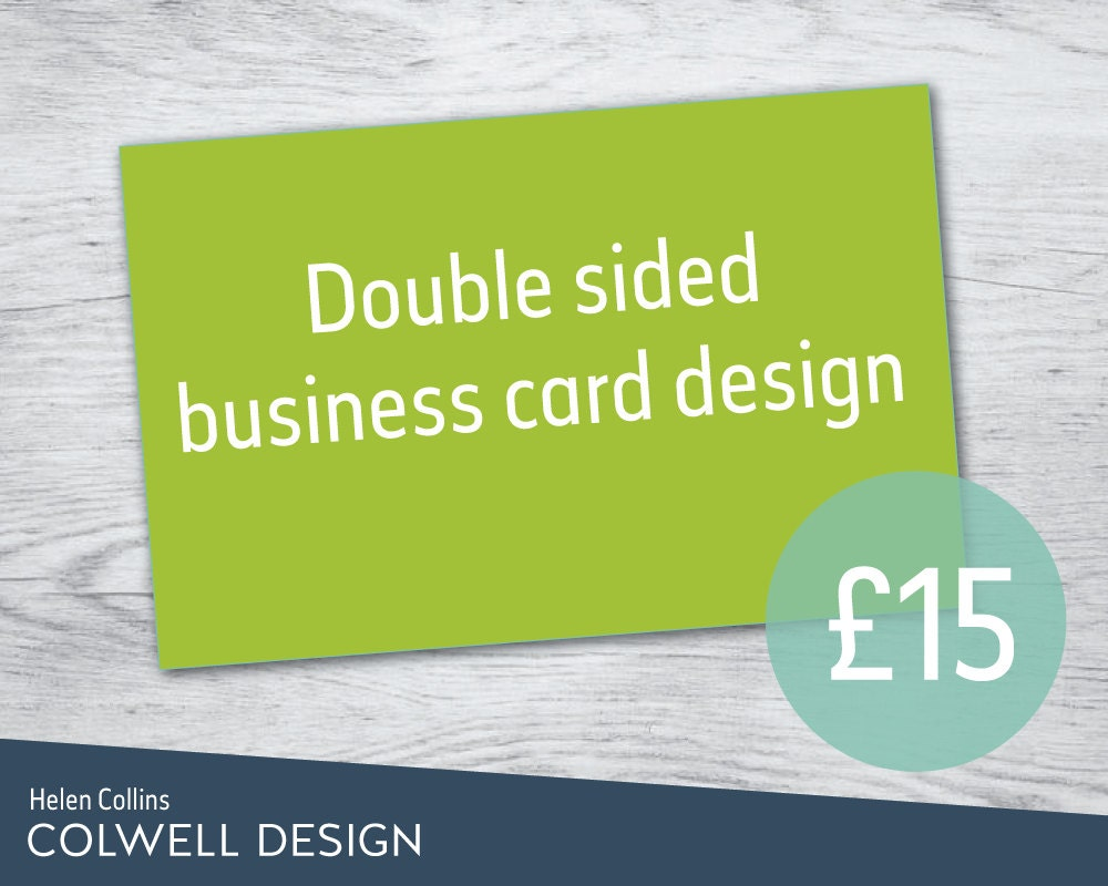 Custom business card design double sided bespoke cards for Order custom business cards
