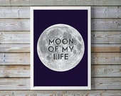 Game of Thrones, Drogo, Daenerys Targaryen, A4, Moon of My Life, moon, romantic quotes, Game of Thrones quote, Game of Thrones poster, love