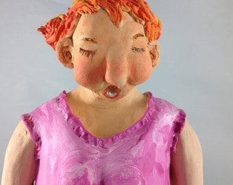 Ceramic figurine - layers