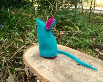 Mouse Pin Cushion Rat Pin Cushion