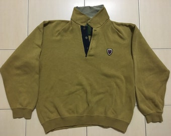 Vintage 90's Mc Gregor Sport Classic Design Skate Sweat Shirt Sweater Varsity Jacket Size L #A525