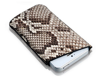 Python skin leather iPhone 6 4.7 case