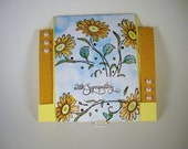 BEAUTIFUL SYMPATHY Card, This And That 4 You Shop, Standard Step with A2, With Sympathy, Ref SYMP005, Sympathy Card, Pretty Card, Thoughtful