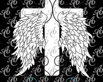 Cross & Wings