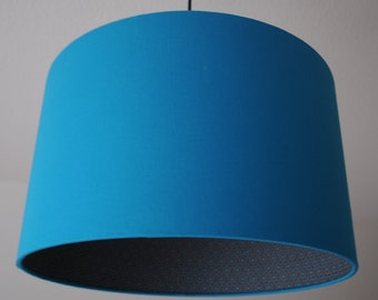 "Lamp shade ""Circle-turquoise"""