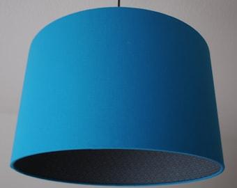 "Lamp shade ""Circle-turquoise"""