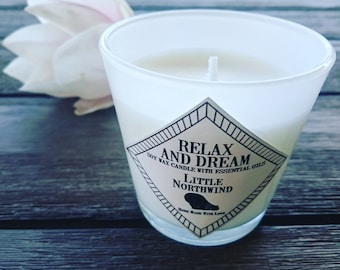 Candle Relax And Dream soy wax