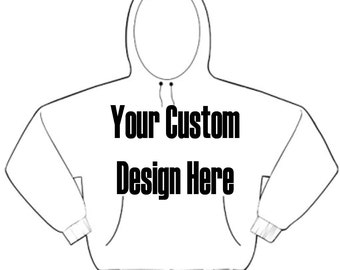Custom Hoodie Silk Screened