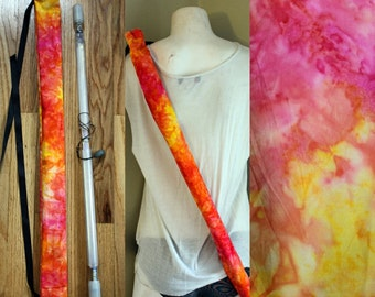 Fully lined adjustable draw-string flow wand bag