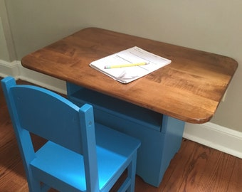 Kids Activity Storage Table and Chair