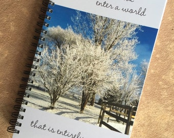 Winter Morning - Journal/Notebook