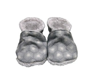 Slippers 100% organic cotton flakes/Slippers biologic Cotton