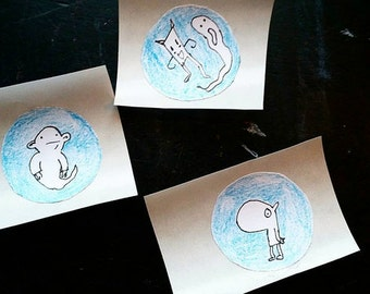 Ghost Pals Stickers