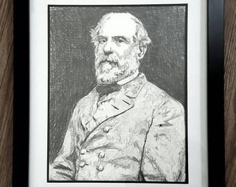 Robert E. Lee Pencil Sketch
