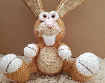 Rabbit made of cotton