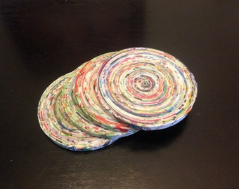 Bright Colorful Coasters