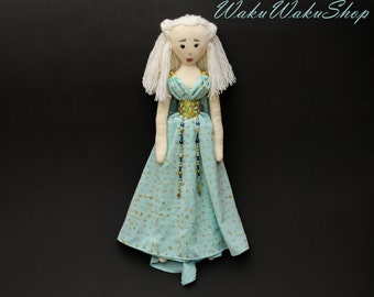 Daenerys Targaryen from Game of Thrones handmade doll