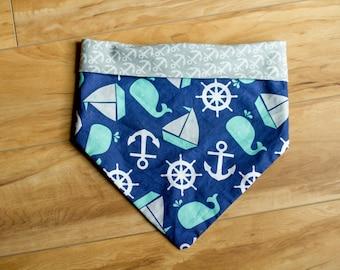 Anchor & Whales Bandana