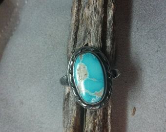 Beautiful Blue stone ring