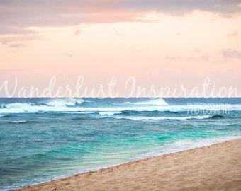 Calming Beach Sunset