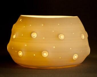 Porcelain Votive candle holder