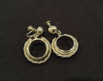 Vintage Rope Earrings