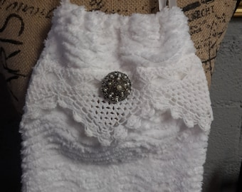 Chanel Purse with Vintage brooch