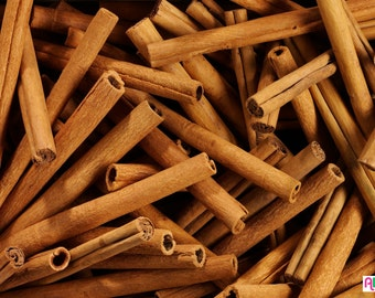 Cinnamon Bark Sticks  3.5 oz  (Cinnamomum Cassia) Indonesia 100g by Chirag