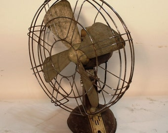 Vintage decor - Table Fan