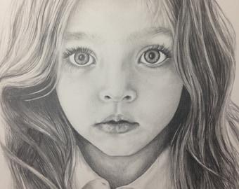 8x10 Personal Pencil Portrait