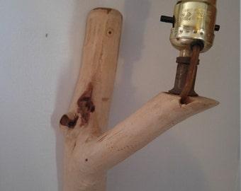 Wall Sconce natural wood